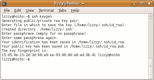 setup ssh keys unix